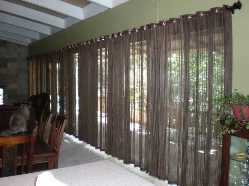 window treatments for sliding glass doors | 18 photos of the ... - Patio Window Curtain Ideas