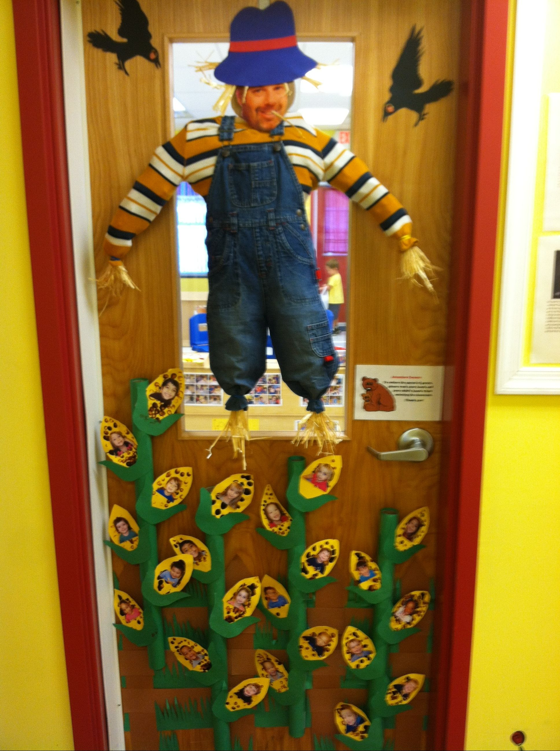 Its Our Classroom Door Very Easy Scarecrow Stuffed With
