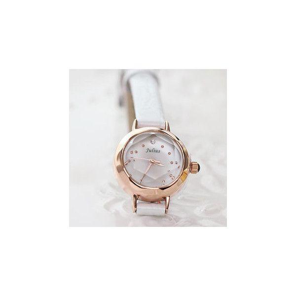 Strap Watch ($43) found on Polyvore