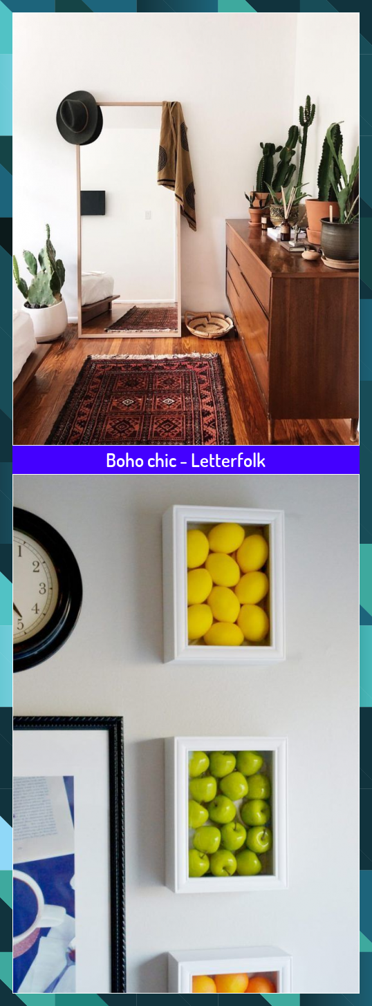 Boho chic - Letterfolk #boho #chic #Letterfolk