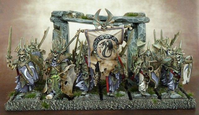 Grave Guard Ishkur Das Nerdspiel Warhammer Vampire