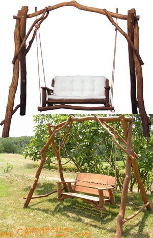 balancelle bois massif 2 places acheter pas cher dream. Black Bedroom Furniture Sets. Home Design Ideas