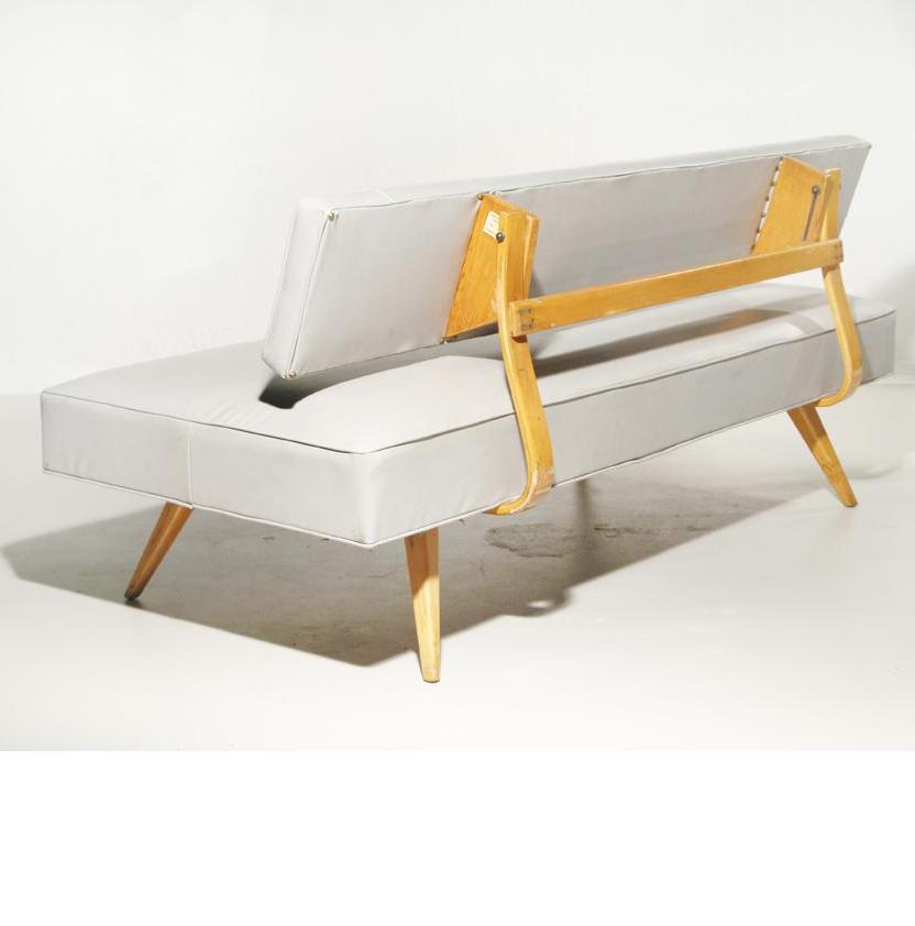 Alvar Aalto Daybed For Massachusetts Institute Of Technology C1940
