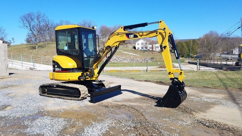 2005 Caterpillar 303CR Mini Compact Excavator Track Hoe