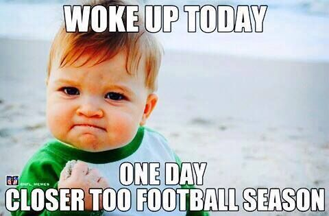 Image result for FOOTBALL season meme
