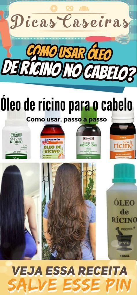 12e3c0223 Como usar óleo de rícino no cabelo? Receitas e passo a passo #beleza #cabelo  #oleo #ricino #mulher