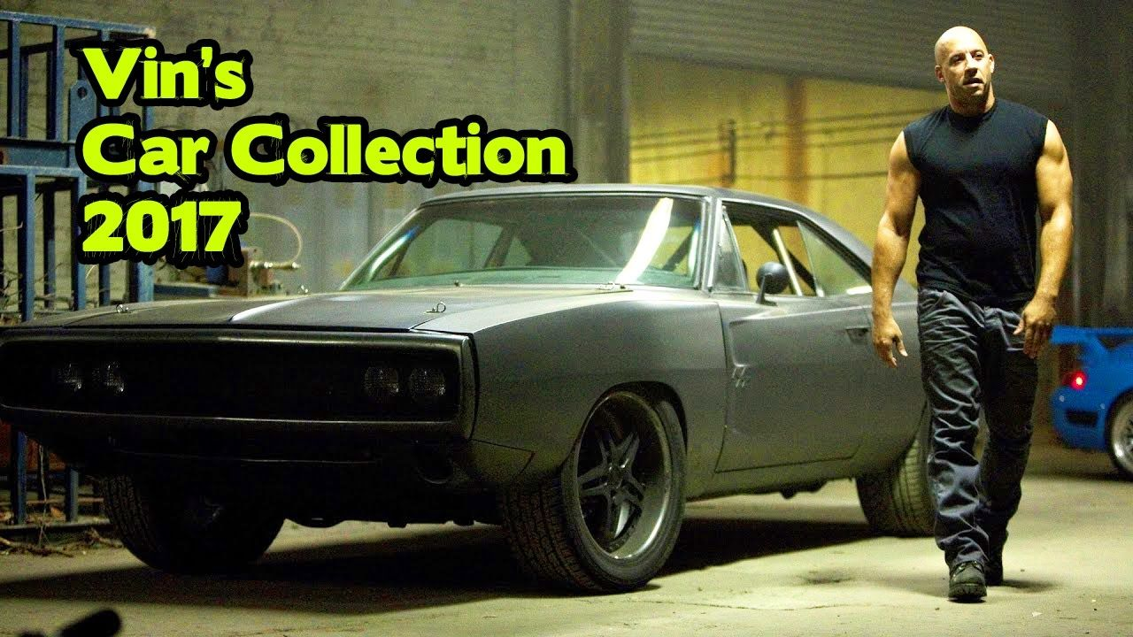 Vin Diesel And His Impressive Car Collection 2017 With Images