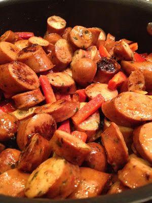A Healthy Makeover: Chicken Sausage & Veggie Pasta