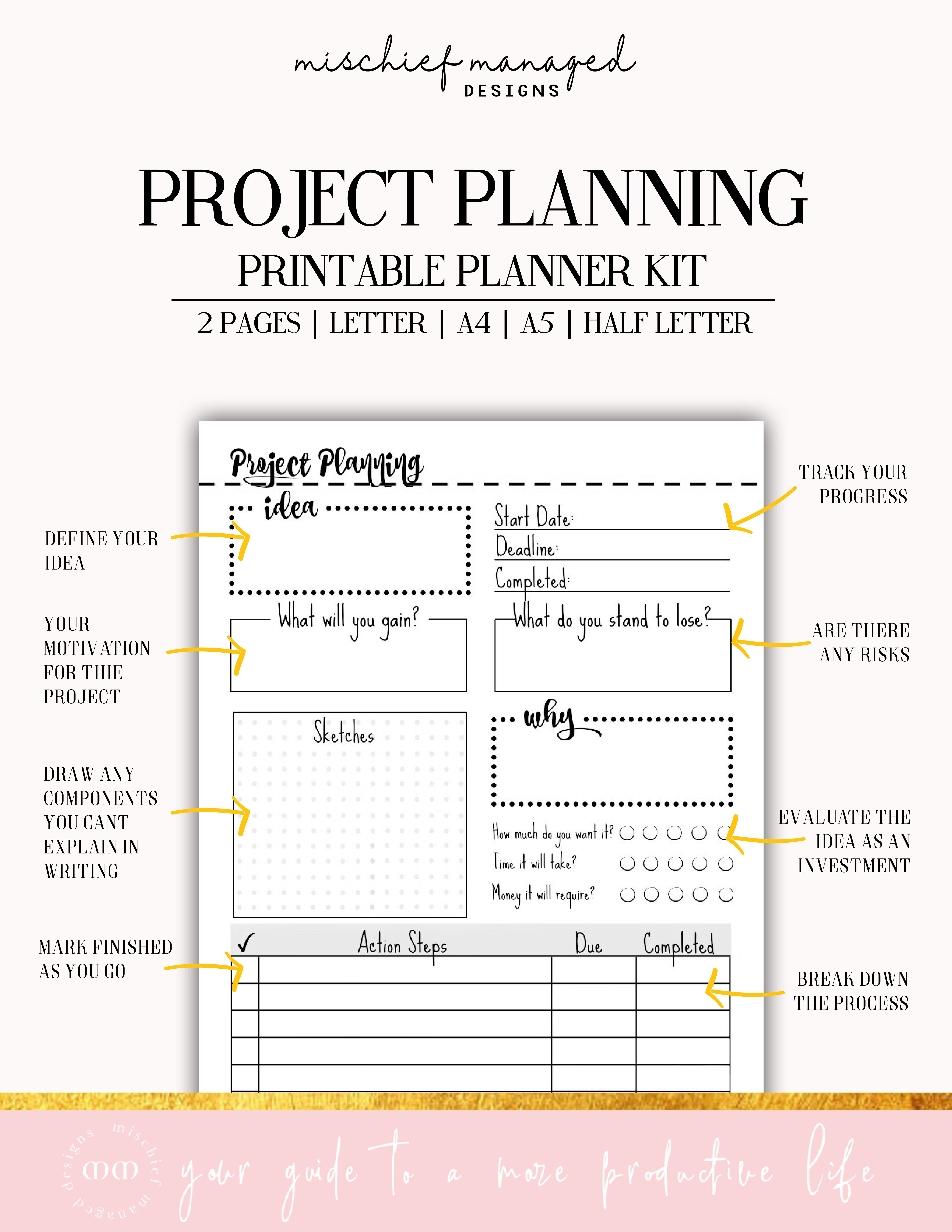 Project Planner Packet