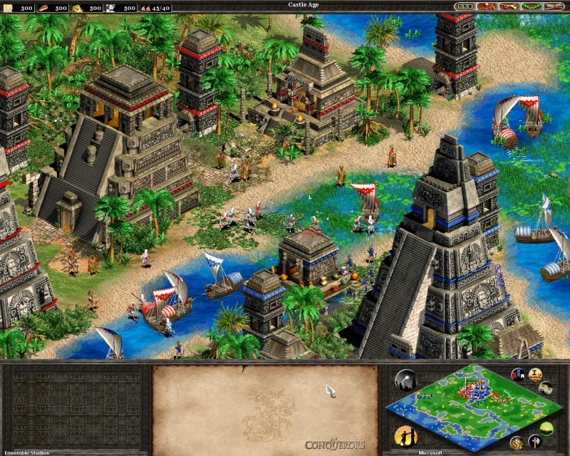 Age Of Empires Ii The Conquerors Screenshot Age Of Empires Vivid Dreams Empire