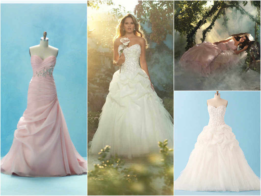 Disney Sleeping Beauty Wedding Dress Princess Bridal Gowns