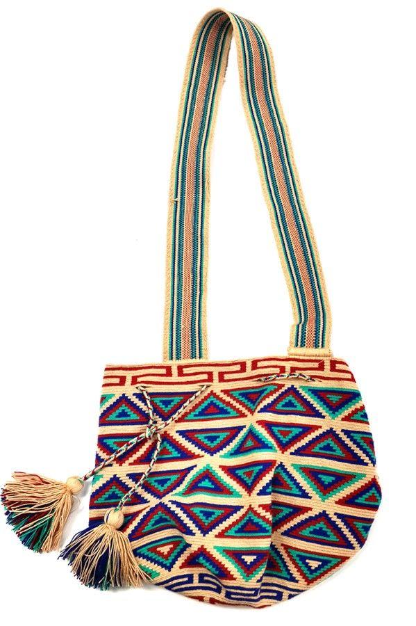 Wayuu Natural Bag