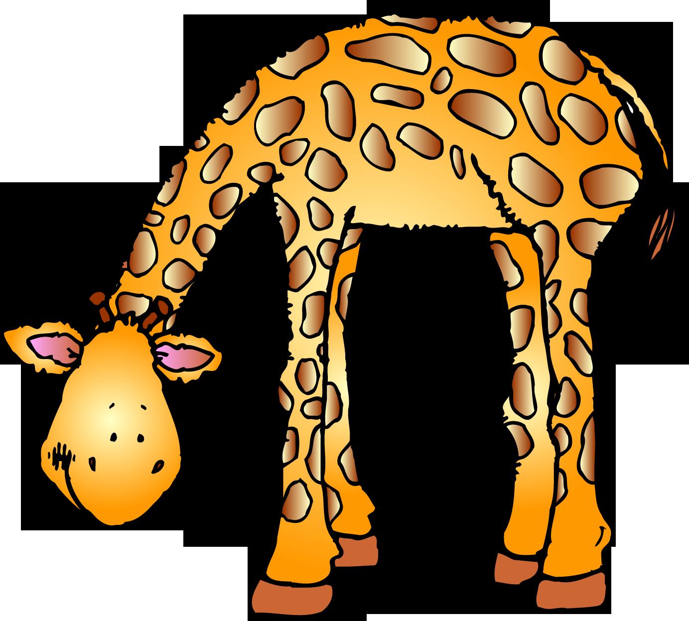Giraffes‿ ⁀ | Animal clipart, Baby jungle animals ...