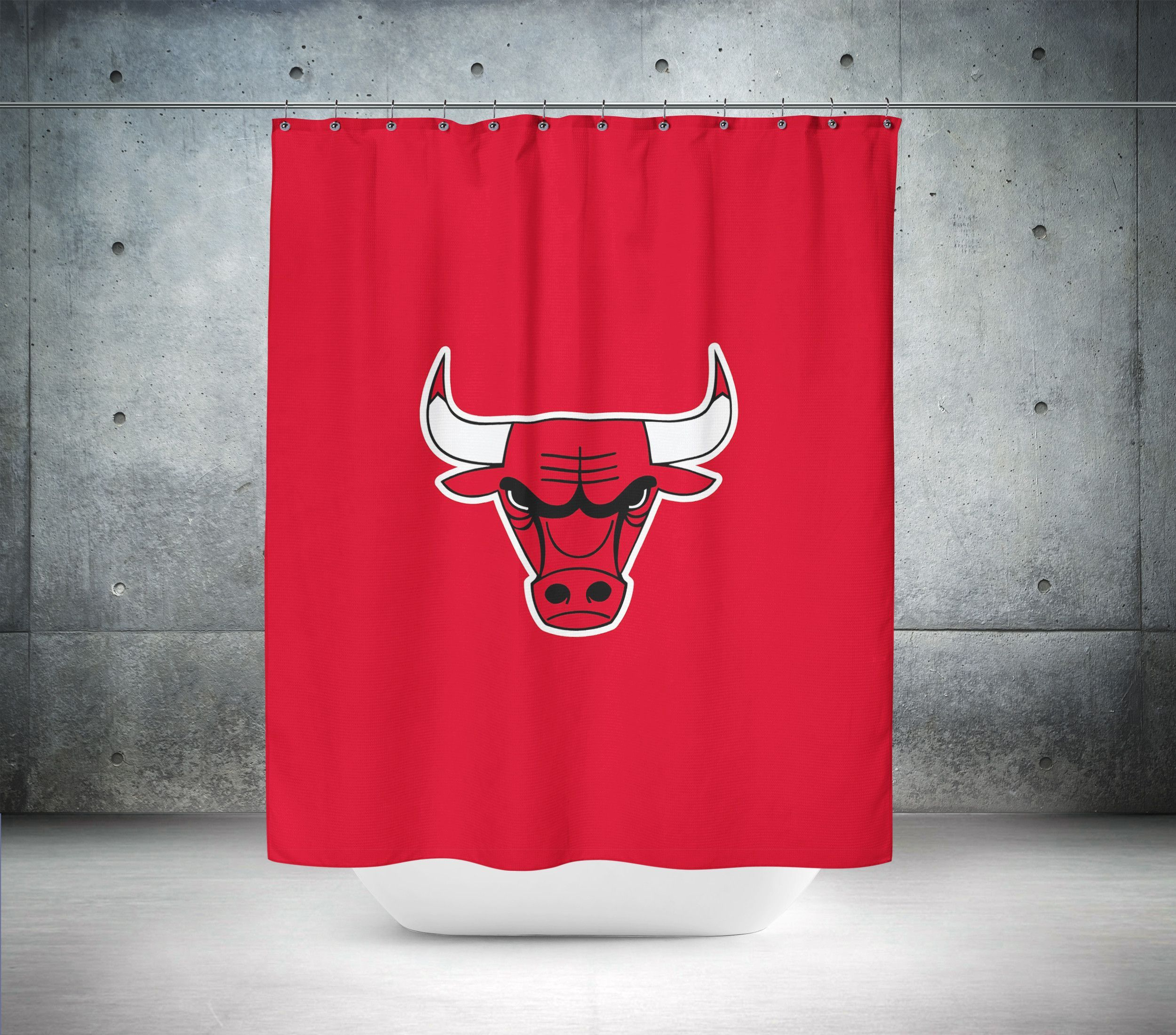 Chicago Bulls NBA Shower Curtain