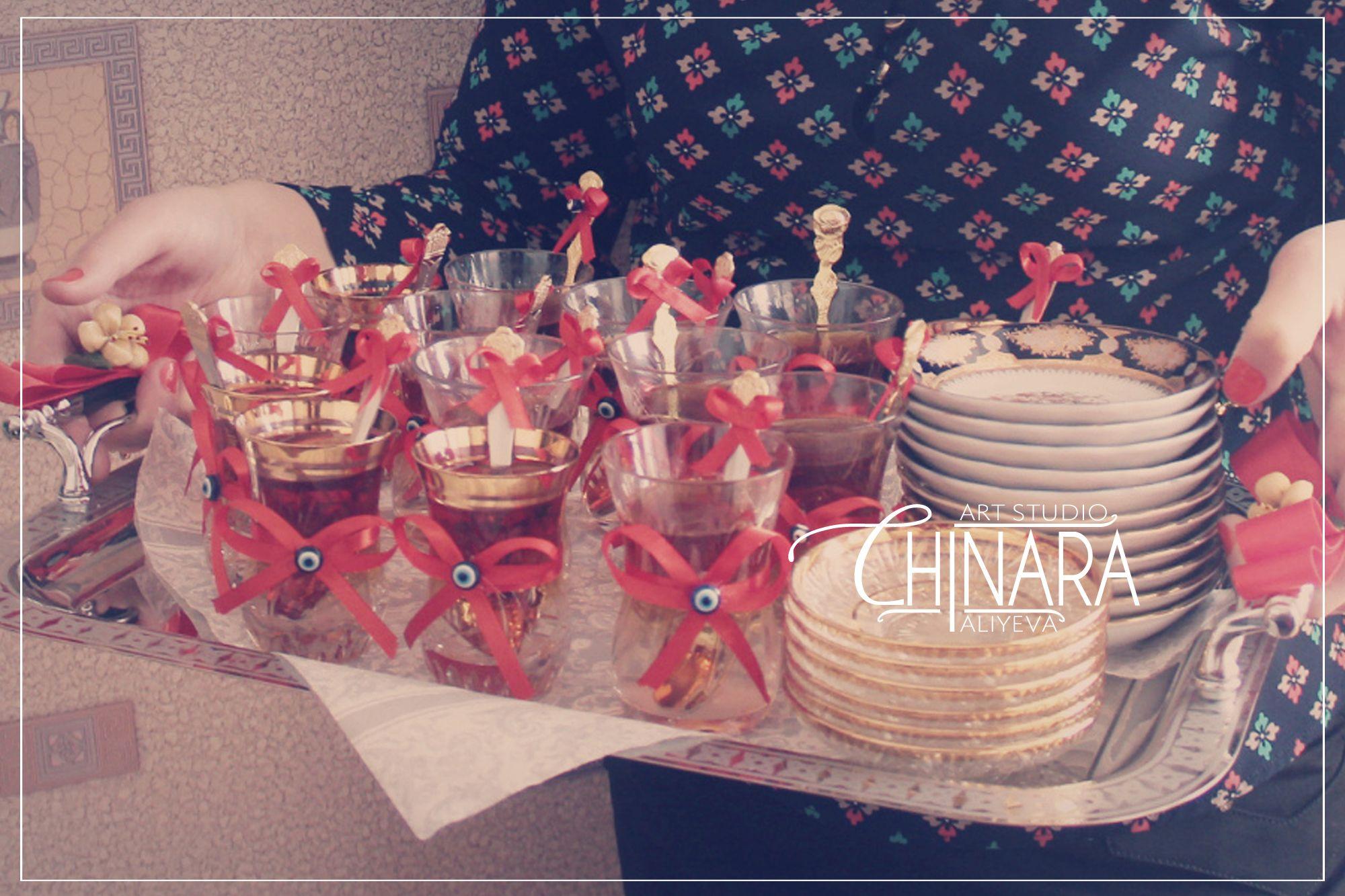 şirin çay lenti (həri lenti)   Xoncalar by Chinara Aliyeva Art ...