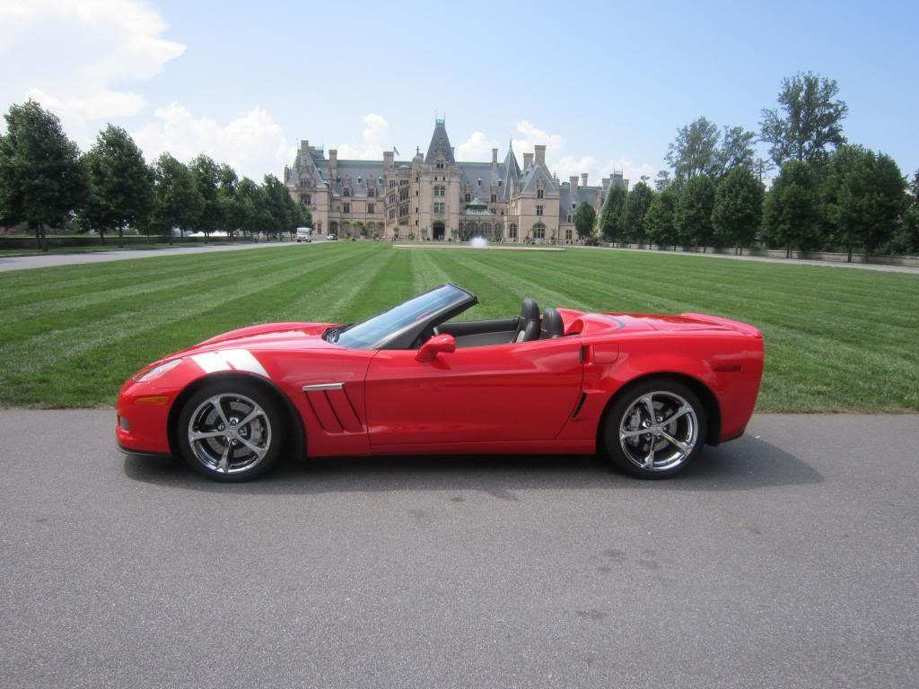 2010 torch red Grand Sport convertible Corvette grand