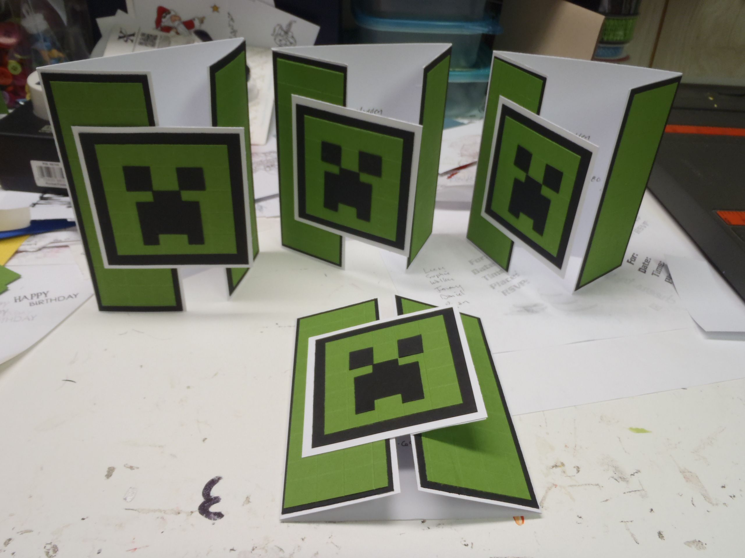 Minecraft invitations pinteres minecraft invitations more solutioingenieria