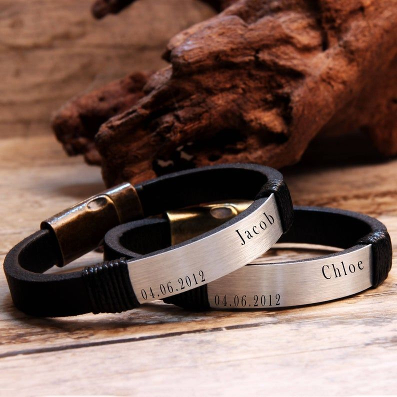 cuff bracelet.Personalized. Leather bracelet,gift for him,gift for her