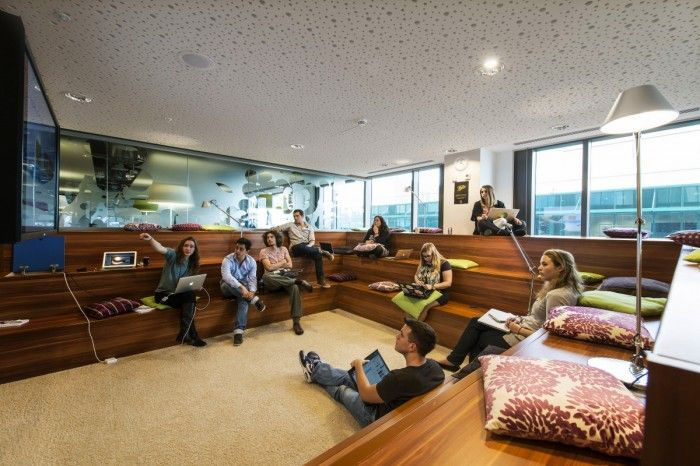 Inside The Epic Google Dublin Campus Office Snapshots Google Office Office Interior Design Office Space Design