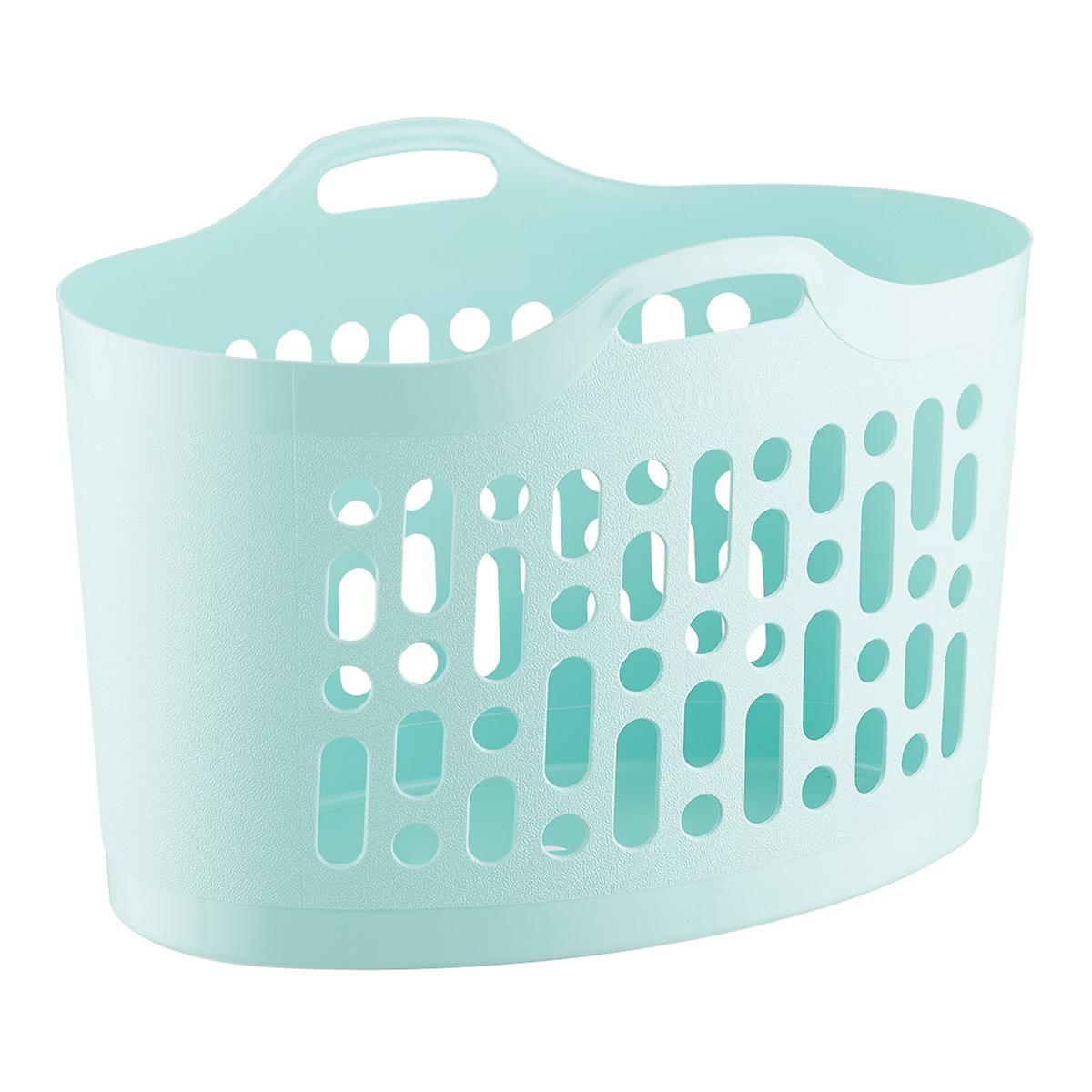 Flex Blue Laundry Basket In 2020 Laundry Basket Laundry Hamper