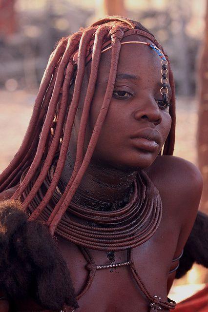 Himba Woman  People  Beautiful African Women, African -9678