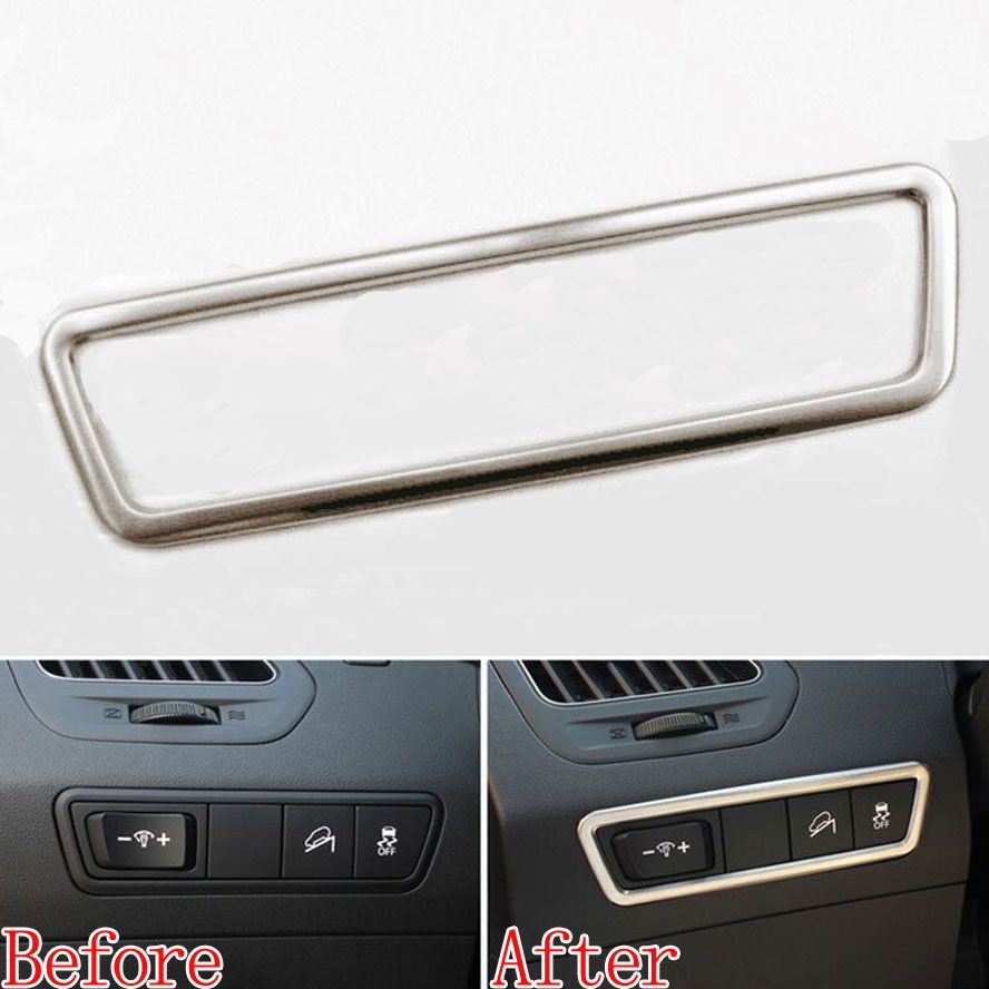 Toys for car journeys  Car Head Light Switch Button Cover Trim Styling Sticker Decoration