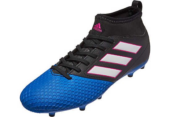 08f262e62ede adidas Kids ACE 17.3 FG Soccer Cleats - Black   Blue