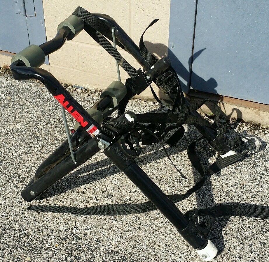 Allen Sports Deluxe 2 Bike Trunk Mount Rack 102dn 102 Dn Allen