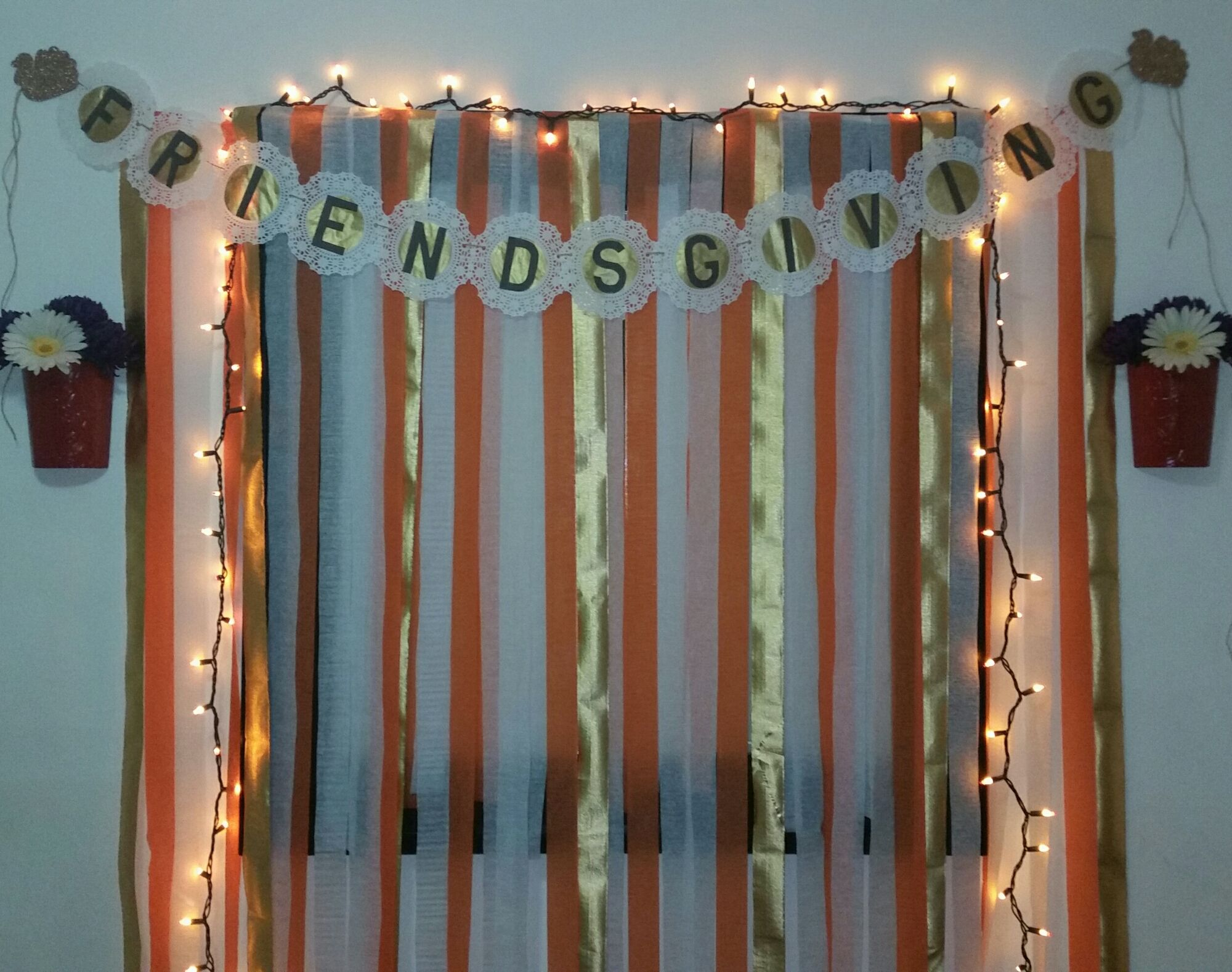 My DIY Friendsgiving Photo booth and Props   Diy photo ...