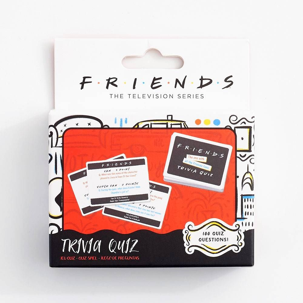 Friends trivia card game paper source in 2020 friends