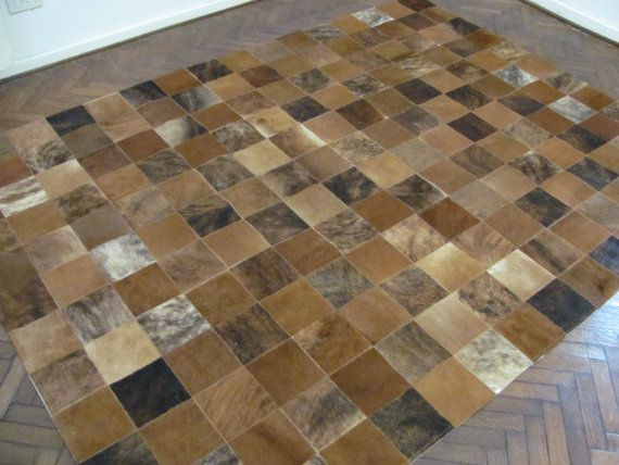 Cowhide Patchwork Rug 3377 240 cm x by CowhideCreations