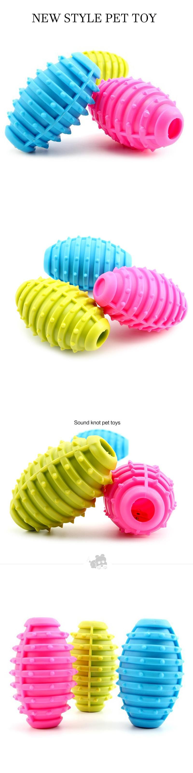 Small Dog Toys New Pet Dog Toy Rubber Ball Pet Toys Puppy Chew