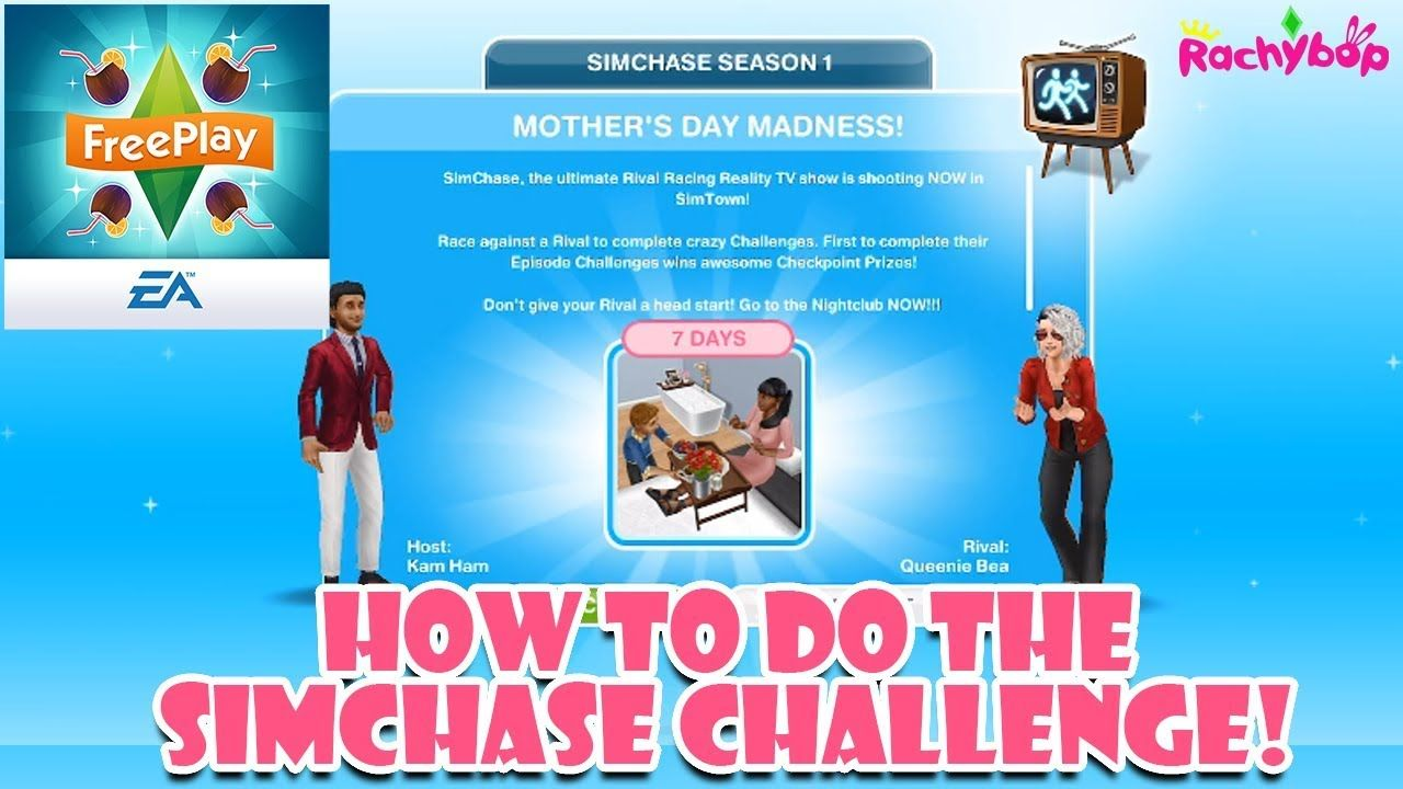 Stupendous How To Do The Simchase Challenge In The Sims Freeplay The Download Free Architecture Designs Lectubocepmadebymaigaardcom