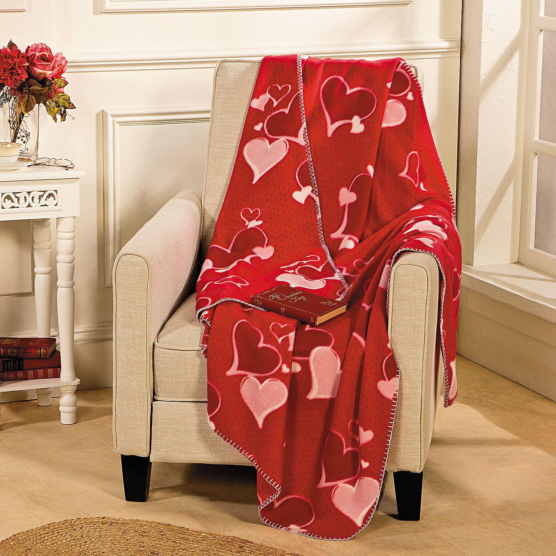 Valentine S Throw Bedroom Blanket Patterned Throw Yard Decor