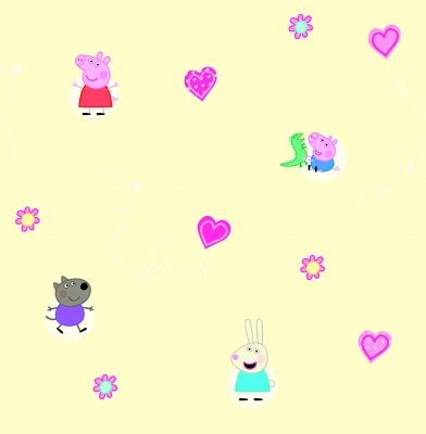 Peppa Pig (WP11855) Brewers Wallpapers A fun cartoon