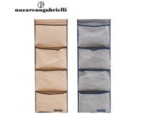 www.sconticasa.it  Set di due box salvaspazio in due diversi colori  Realizzato da Nazareno Gabrielli  Misure Dimensioni 50x40x18cm