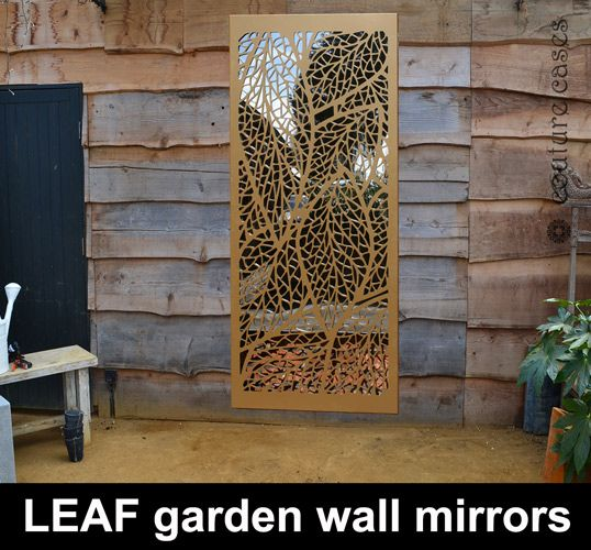 Superbe Garden Mirrors In Modern Patterns I Custom Designs