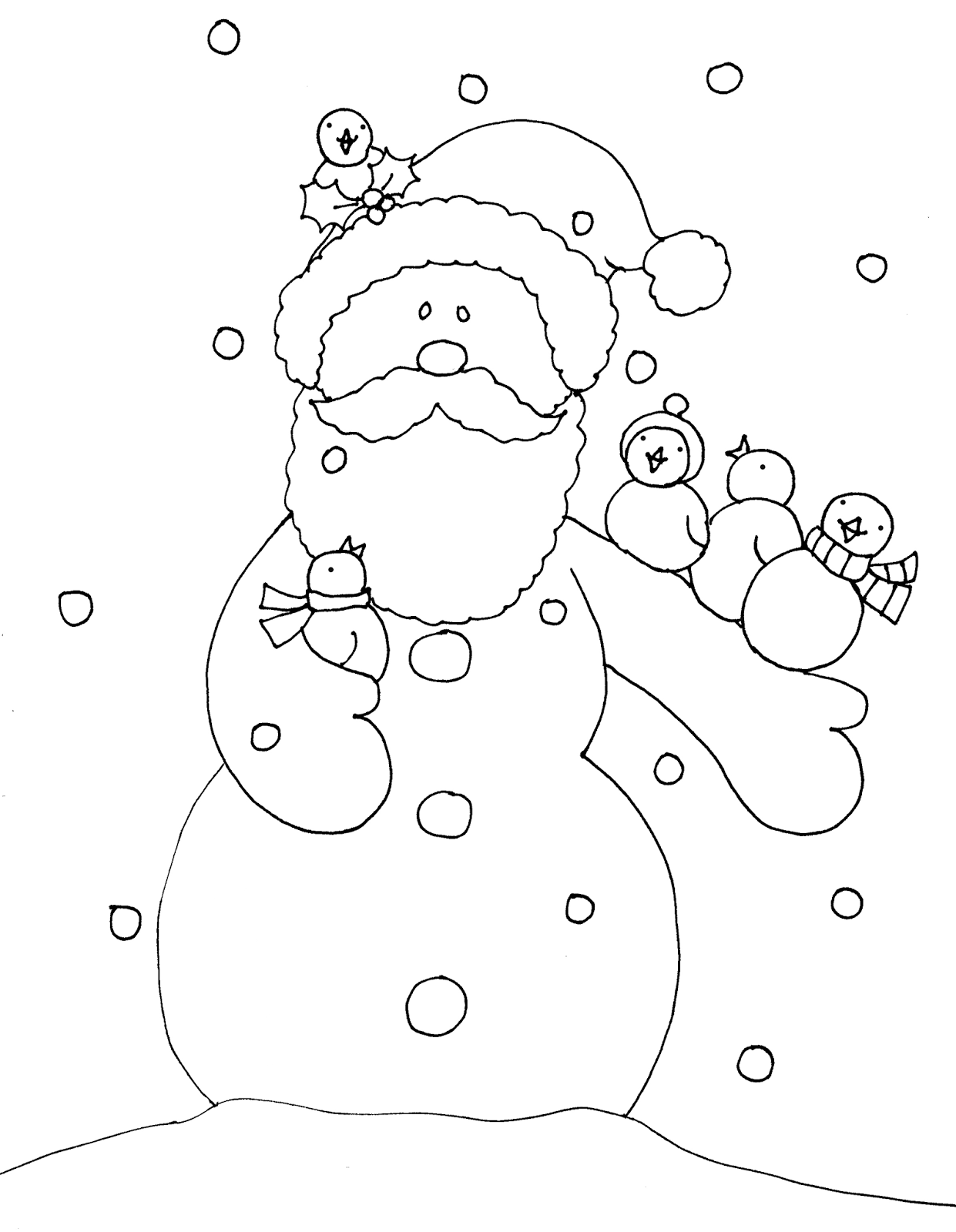 Free Dearie Dolls Digi Stamps | Christmas to color | Pinterest ...