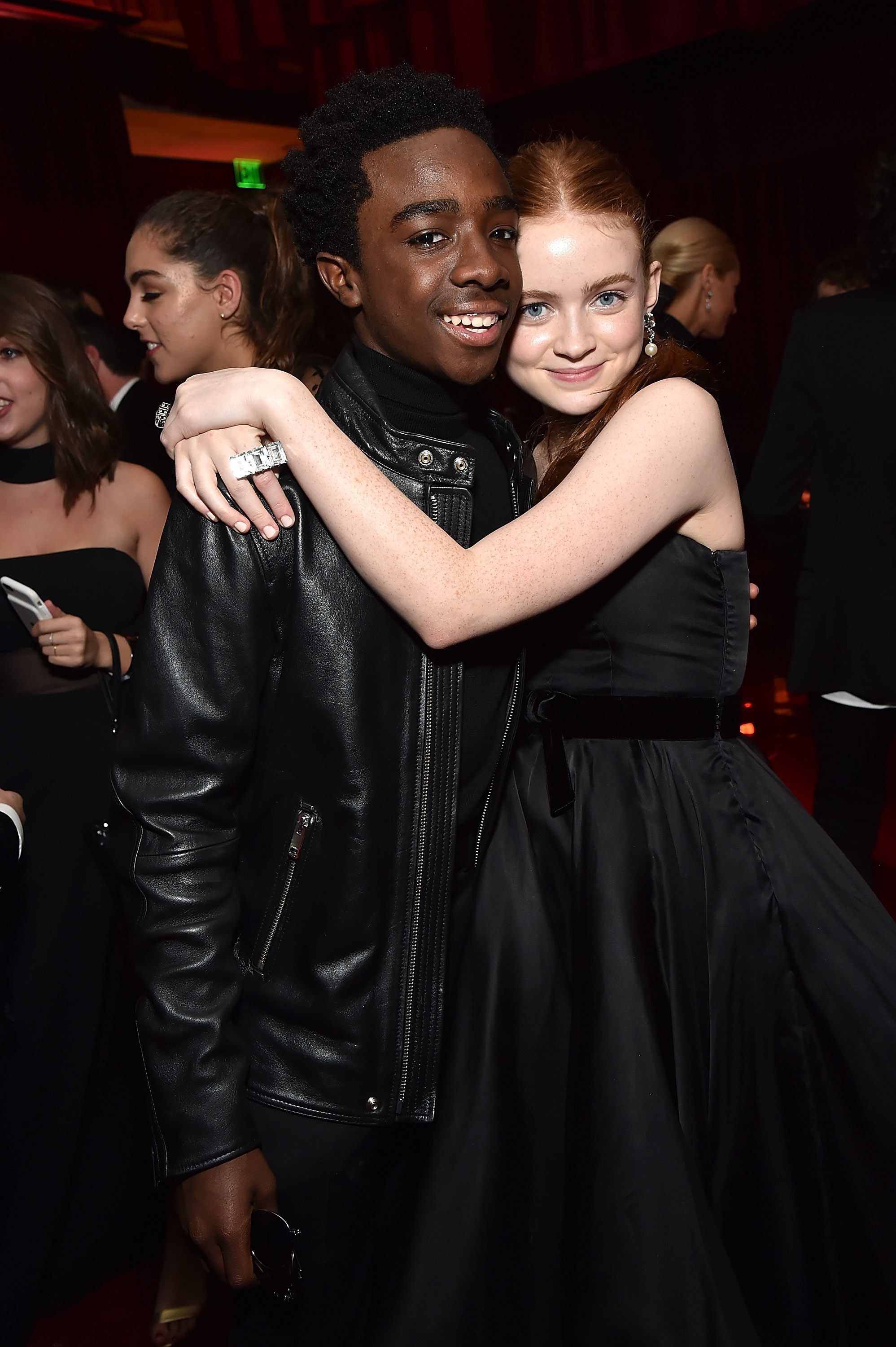 16 Photos That Prove the 'Stranger Things' Kids Had the Best Time at the Golden Globes
