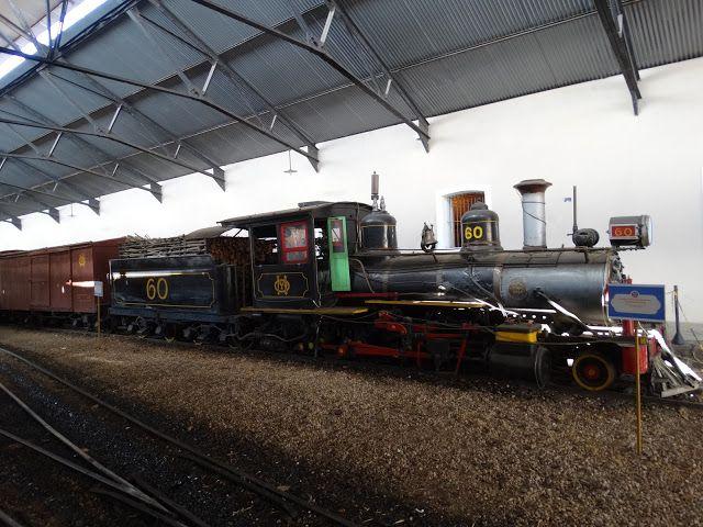 MG - Passeio no trem Maria Fumaça - São João del Rei à Tiradentes