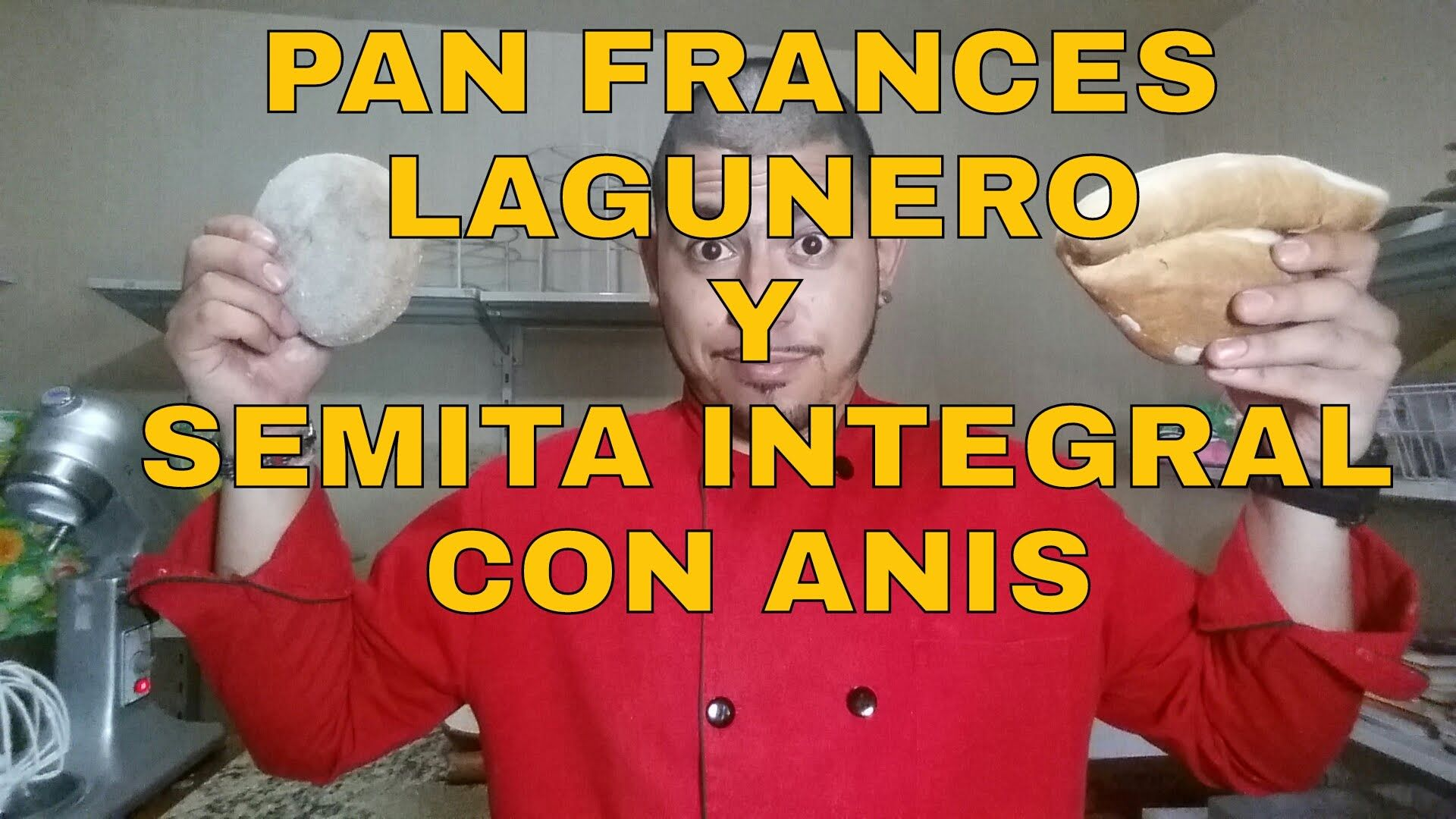 PAN FRANCES|LAGUNERO|SEMITA INTEGRAL CON ANIS|RECETA|ORIGINAL - YouTube