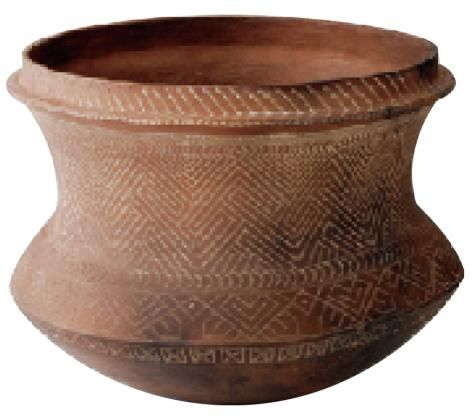 Dating la pita pottery featured what type of designs