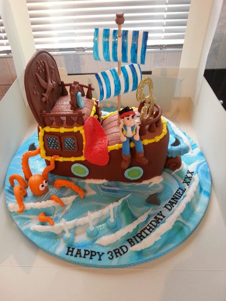 jake and the neverland pirates cake - photo #22