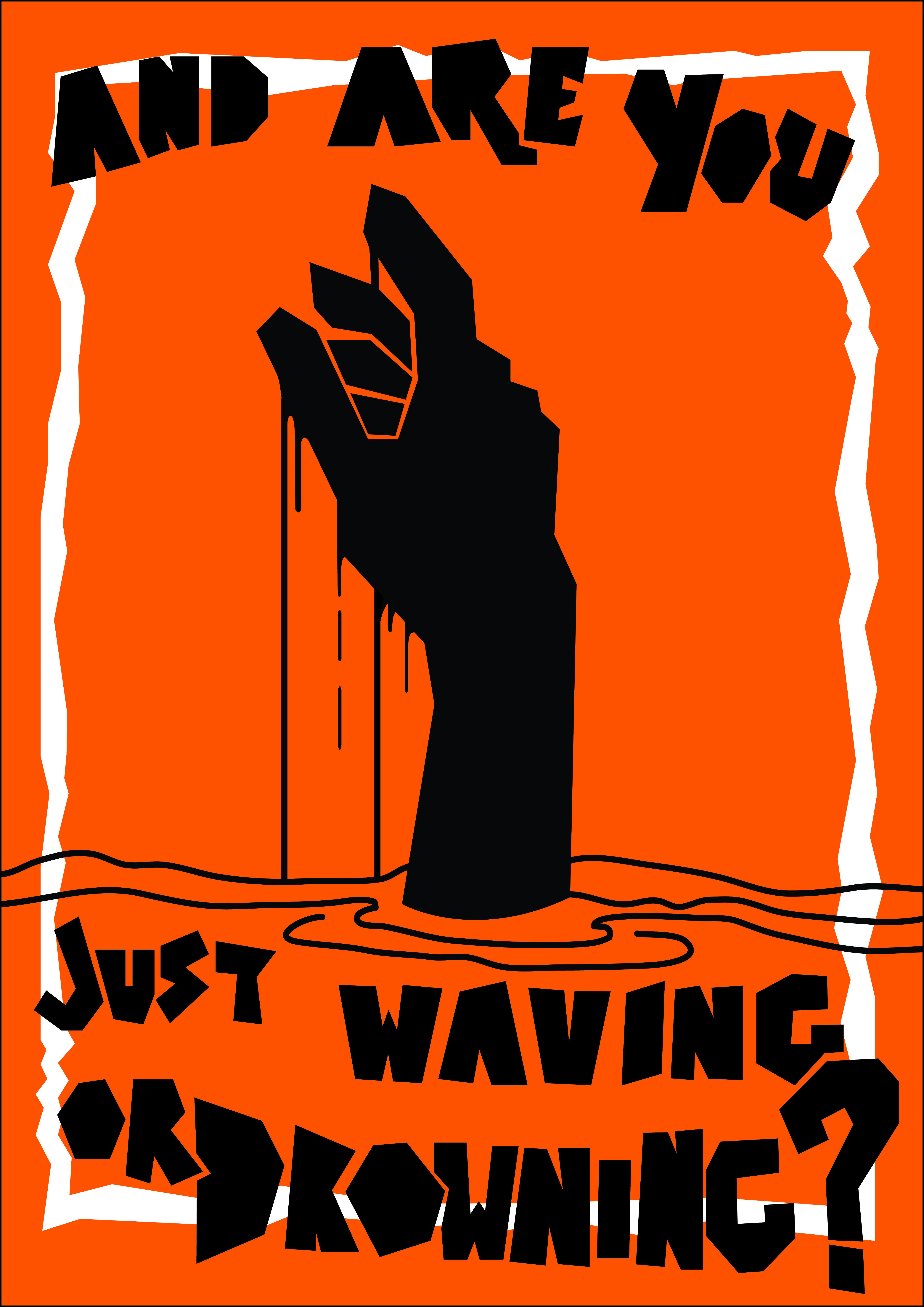 Waving?
