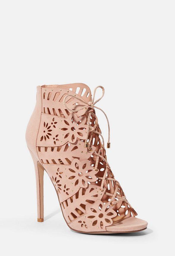 buy popular 2a895 dfb4a Charlotte Sandale mit Absatz Schuhe in blush - günstig ...