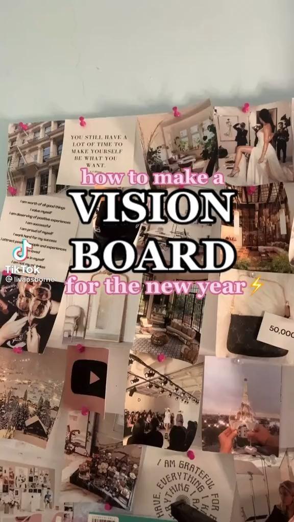 Vision Board DIY Inspo