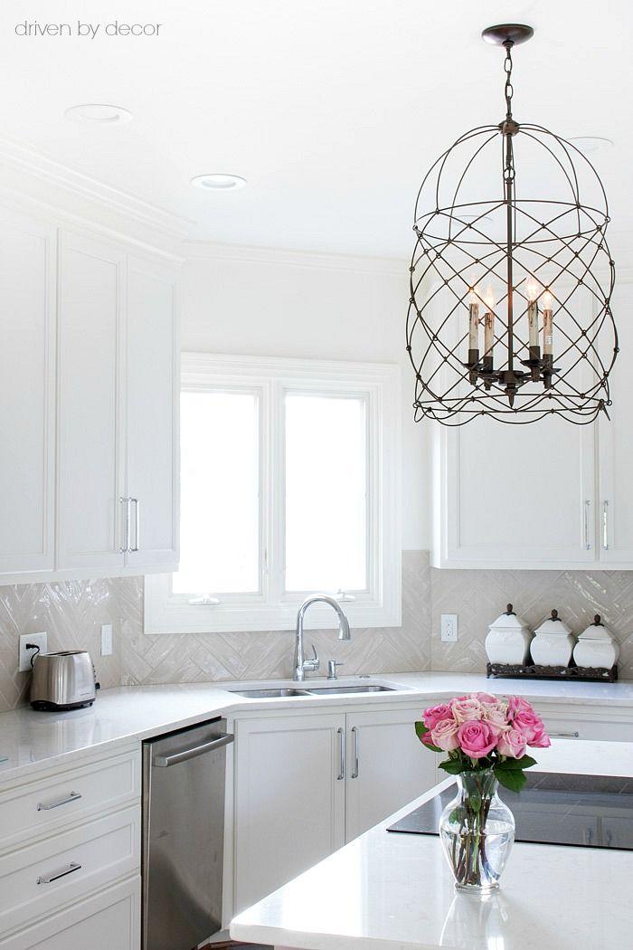 Kitchen Backsplash Tile How High To Go Home Decor Kitchen