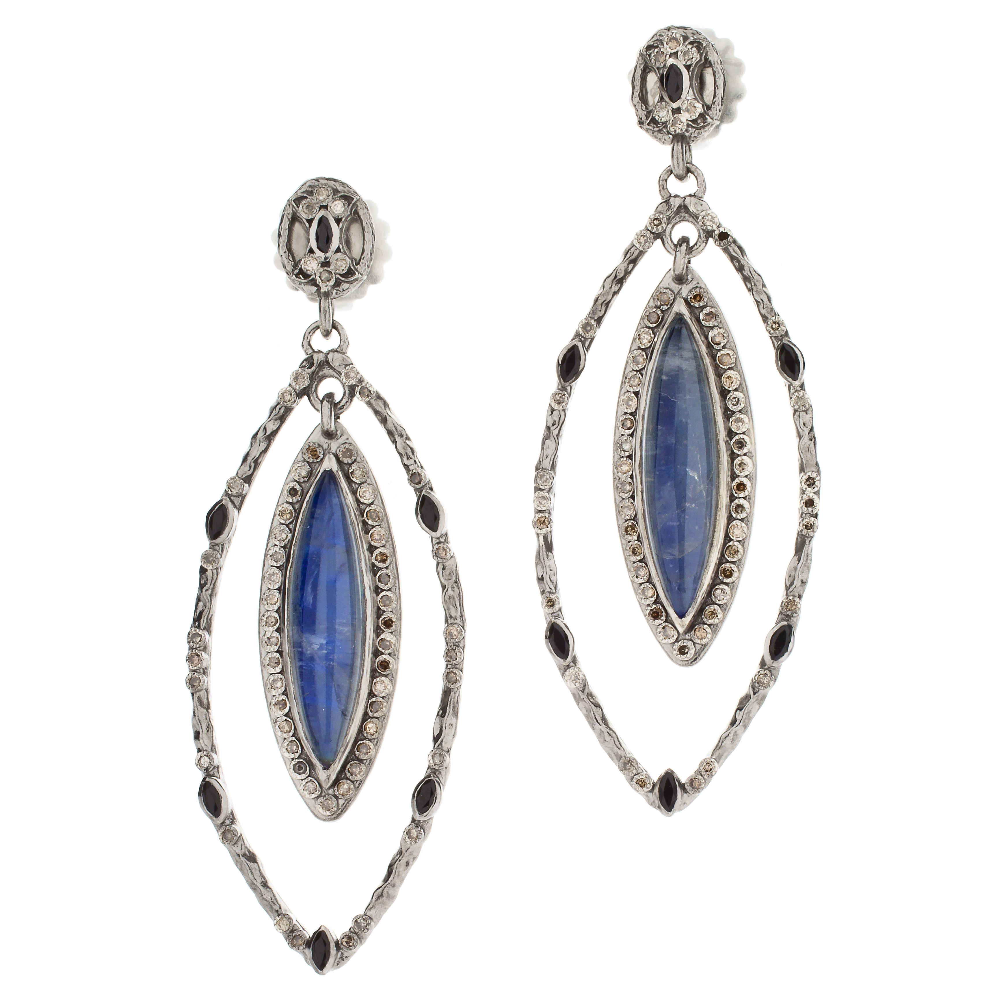 Armenta New World Rose Doublet Earrings with Diamonds NAwrp0fk