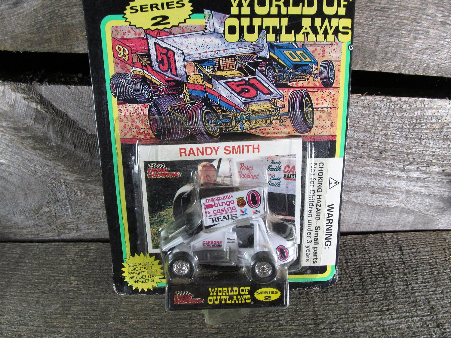 Randy Smith #0, Racing Champions, World Of Outlaws, Sprint