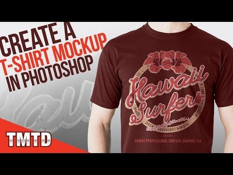 Download Photoshop Tutorials Create A Realistic T Shirt Mockup In Photoshop Youtube Photoshop Tutorial Shirt Mockup Tshirt Mockup